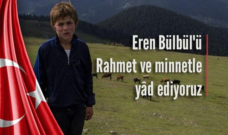 Eren Bülbül (Şehadetinin sene-i devriyesi)