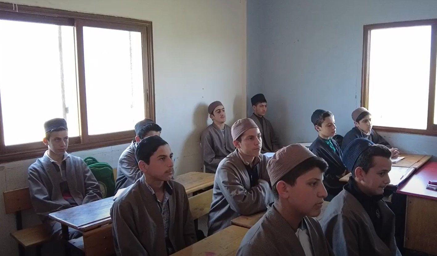 KIYAMDER'in Suriye'deki medrese ziyaretleri devam ediyor