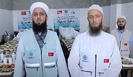 Kıymetli Adımlar 17.Bölüm Suriyedeki Ramazân-ı Şerîf iftar organizasyonları (08.05.2021)